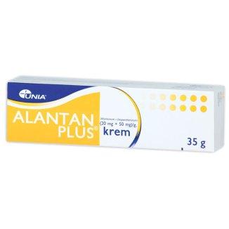 Alantan Plus (20 mg + 50 mg)/ g, krem, 35 g - zdjęcie produktu