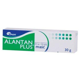 Alantan Plus (20 mg + 50 mg)/ g, maść, 30 g - zdjęcie produktu