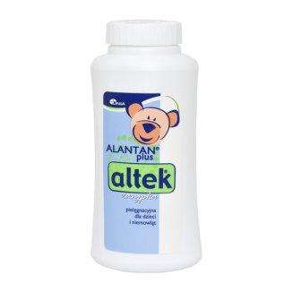 Alantan Plus Altek, zasypka pielęgnacyjna dla dzieci i niemowląt, 100 g - zdjęcie produktu