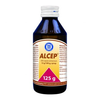 Alcep 949 mg/ 5 ml, syrop, 125 g - zdjęcie produktu