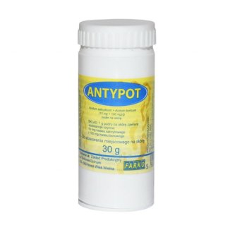 Antypot (10 mg + 100 mg)/ g, puder na skórę, 30 g - zdjęcie produktu