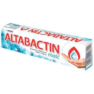 Altabactin, (250 IU + 5 mg)/ g, maść, 20g - zdjęcie produktu
