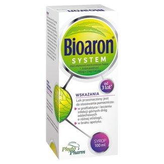 Bioaron System (1920 mg + 51 mg)/ 5 ml, syrop dla dzieci od 3 lat i dorosłych, 100 ml - zdjęcie produktu