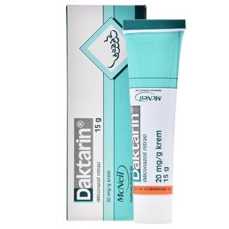 Daktarin 20 mg/ g, krem, 15 g - zdjęcie produktu