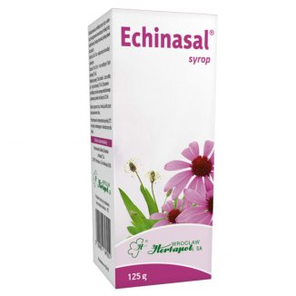 Echinasal (0,5 g + 0,3 g + 0,2g)/ 10g, syrop, 125 g - zdjęcie produktu