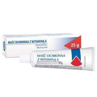 Maść ochronna z witaminą A 800 j.m./ g, 25 g - zdjęcie produktu