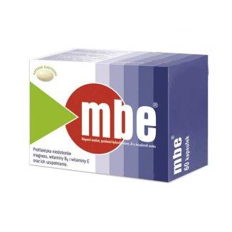 MBE 250 mg + 7,29 mg + 200 mg, 60 kapsułek - zdjęcie produktu
