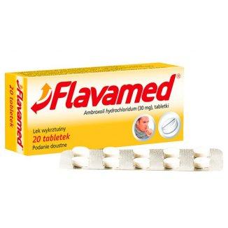 Flavamed 30 mg, 20 tabletek - zdjęcie produktu