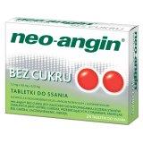Neo-Angin bez cukru 1,2 mg + 0,6 mg + 5,72 mg, 24 tabletki do ssania - miniaturka zdjęcia produktu