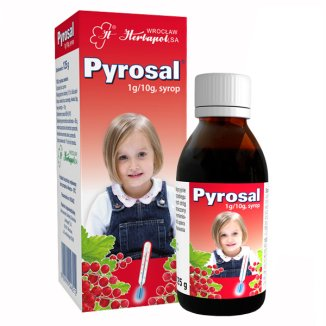 Pyrosal 1 g/ 10 g, syrop, 125 g - zdjęcie produktu
