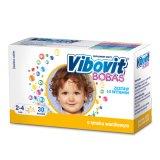 Vibovit Bobas, dla dzieci w wieku od 2 do 4 lat, smak waniliowy, 30 saszetek - miniaturka zdjęcia produktu