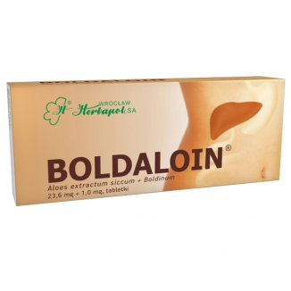 Boldaloin 23,6 mg + 1,0 mg, 30 tabletek - zdjęcie produktu