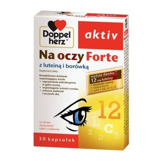 Doppelherz aktiv Na oczy Forte, 30 kapsułek - zdjęcie produktu