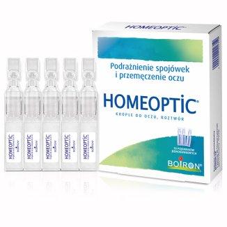 Homeoptic, krople do oczu, 0,4 ml x 10 minimsów - zdjęcie produktu