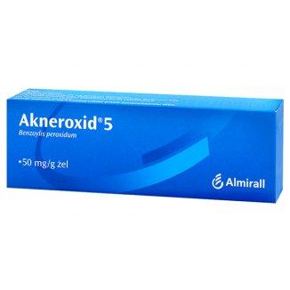 Akneroxid 5 50 mg/ g, żel, 50 g - zdjęcie produktu
