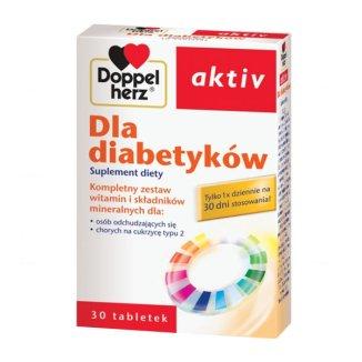 Doppelherz aktiv Dla diabetyków, 30 tabletek - zdjęcie produktu