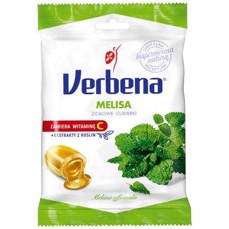 Verbena Melisa, cukierki ziołowe z witaminą C, 60 g - zdjęcie produktu