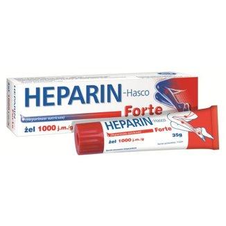 Heparin-Hasco Forte 1000 j.m./ g, żel, 35 g - zdjęcie produktu