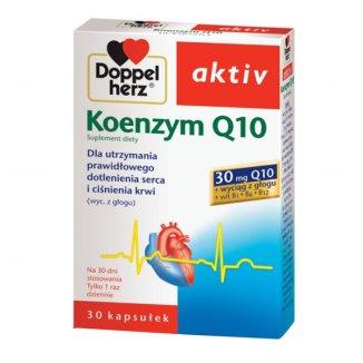Doppelherz aktiv Koenzym Q10, 30 kapsułek - zdjęcie produktu