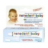 Zestaw Nenedent Baby, pasta do zębów dla dzieci, 6-24 miesiące + szczoteczka do zębów, silikonowa - miniaturka zdjęcia produktu