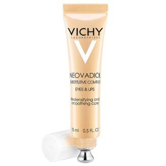 Vichy Neovadiol Kompleks Uzupełniający, krem wygładzający skórę wokół oczu i ust, 15 ml - zdjęcie produktu