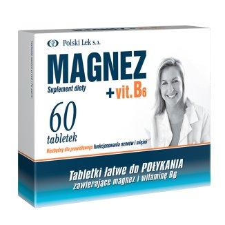 Magnez + B6, 60 tabletek - zdjęcie produktu