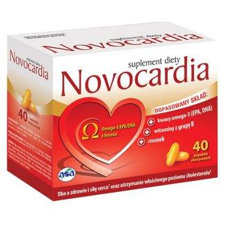 Novocardia, 40 kapsułek - zdjęcie produktu