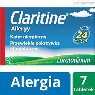 Claritine Allergy 10 mg, 7 tabletek - zdjęcie produktu