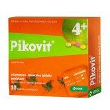 Pikovit 4+ dla dzieci od 4 roku życia, 30 tabletek powlekanych KRÓTKA DATA - miniaturka zdjęcia produktu