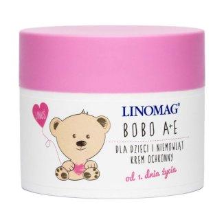 Linomag Bobo A+E, krem ochronny dla dzieci i niemowląt, od 1 dnia życia, 50 ml - zdjęcie produktu