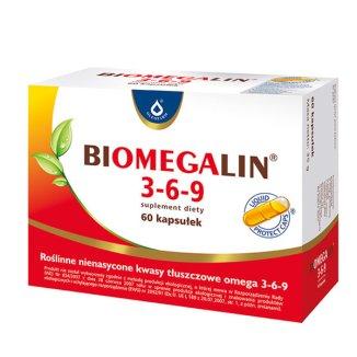 Biomegalin 3-6-9, 60 kapsułek - zdjęcie produktu
