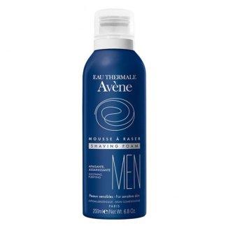 Avene Men, pianka do golenia, skóra wrażliwa, 200 ml - zdjęcie produktu
