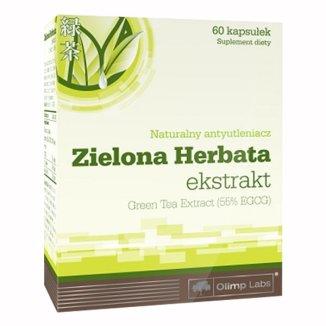 Olimp Zielona Herbata, 60 kapsułek - zdjęcie produktu