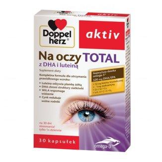 Doppelherz aktiv Na oczy Total, 30 kapsułek - zdjęcie produktu