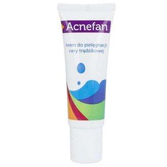 Acnefan, krem do pielęgnacji cery trądzikowej, 25 ml - zdjęcie produktu