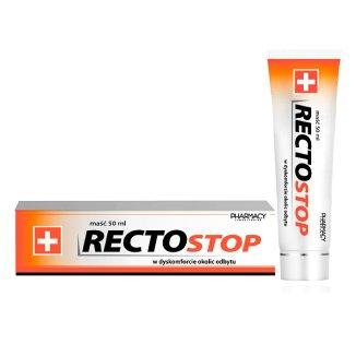 Rectostop, maść w dyskomforcie okolic odbytu, 50 ml - zdjęcie produktu