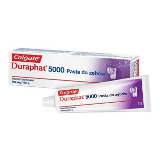 Duraphat 5000 1,1%, pasta do zębów, 51 g - zdjęcie produktu