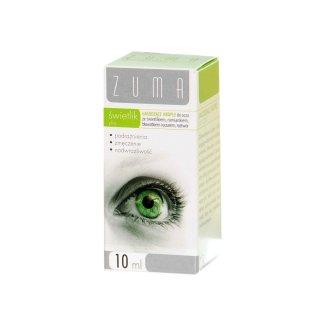 Zuma Świetlik Plus, łagodzące krople do oczu, roztwór, 10 ml - zdjęcie produktu