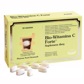 Bio-Witamina C Forte, 750 mg, 30 tabletek - zdjęcie produktu