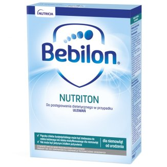Bebilon Nutriton, preparat zagęszczający w przypadku ulewań, od urodzenia, 135 g - zdjęcie produktu