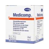 Medicomp, kompresy jałowe, włókninowe, 4-warstwowe, 30 g/ m2, 5 cm x 5 cm, 50 sztuk - miniaturka zdjęcia produktu