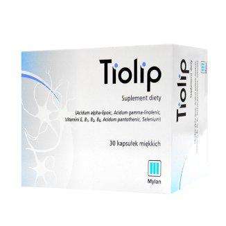 Tiolip, 30 kapsułek miękkich - zdjęcie produktu