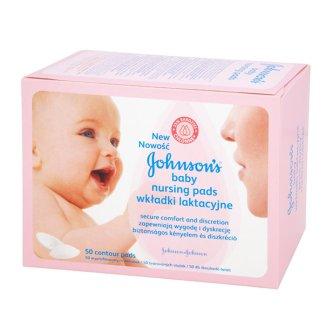 Johnson's Baby, wkładki laktacyjne, 50 sztuk - zdjęcie produktu