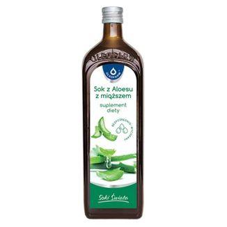 Oleofarm Soki Świata Sok z Aloesu z miąższem, 1000 ml - zdjęcie produktu