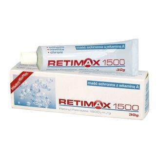 Retimax 1500, maść ochronna z witaminą A, 30 g - zdjęcie produktu