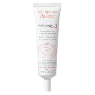 Avene Antirougeurs Fort, koncentrat na utrwalone zaczerwienienia, skóra wrażliwa i naczynkowa, 30 ml - zdjęcie produktu