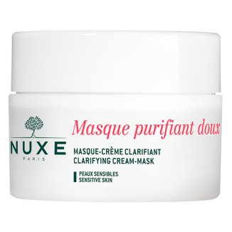 Nuxe Płatki Róży, oczyszczająca maseczka-krem do skóry wrażliwej , 50 ml - zdjęcie produktu