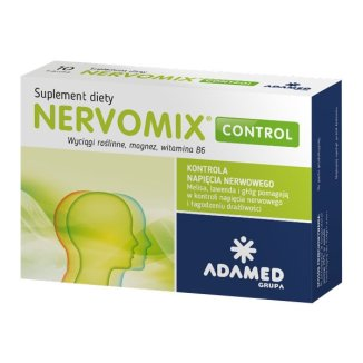 Nervomix Control, 20 kapsułek - zdjęcie produktu