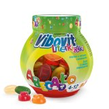Vibovit Literki Żelki, dla dzieci 4-12 lat, smak owocowy, 50 sztuk - miniaturka zdjęcia produktu