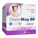 Olimp Chela-Mag B6 Junior, dla dzieci powyżej 3 lat, 5 g x 15 saszetek - miniaturka zdjęcia produktu